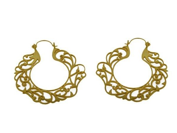 JLI342PE01 - Clandestial earrings